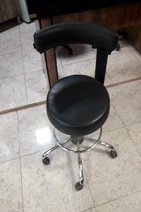 صندلی تابوره پشتی دار